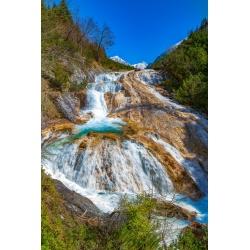 Karwendelbach-Wasserfall