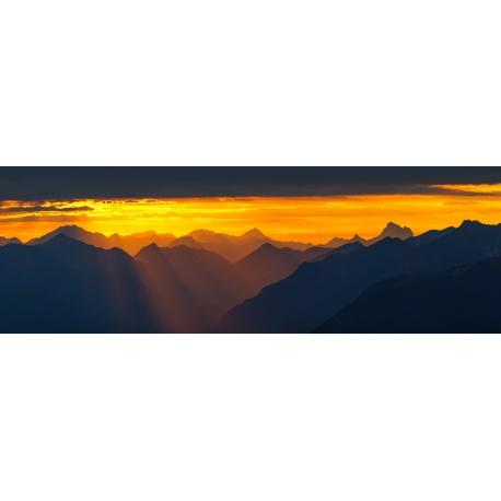 Lichtblick über Garmisch-Partenkirchen
