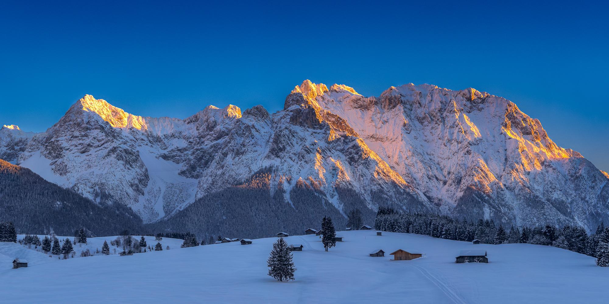 Karwendel und Zugspitze - Bilder von Thomas