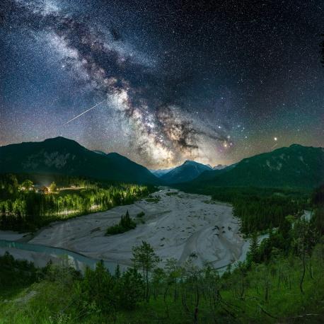 Milchstraße bei Vorderriss