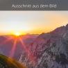 Sonnenaufgang Falkengruppe Karwendel