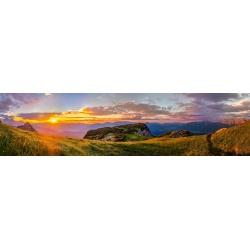 Gamsanger Bergpanorama Sonnenuntergang Werdenfelser Land