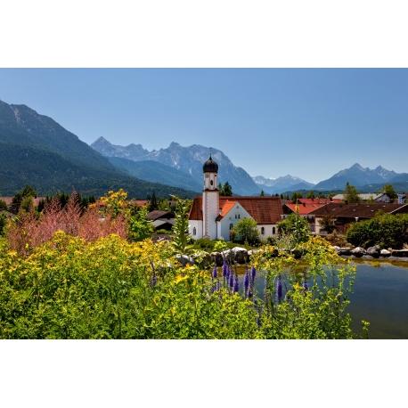 Kirche in Wallgau - Karwendel