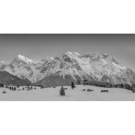 Karwendel Panorama sw