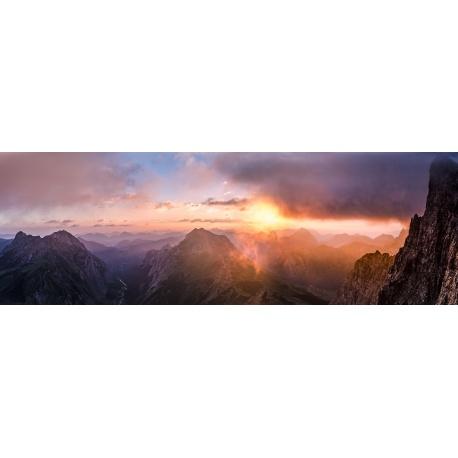 Alpen, Karwendelhauptkamm, Gamsjoch, Engalm