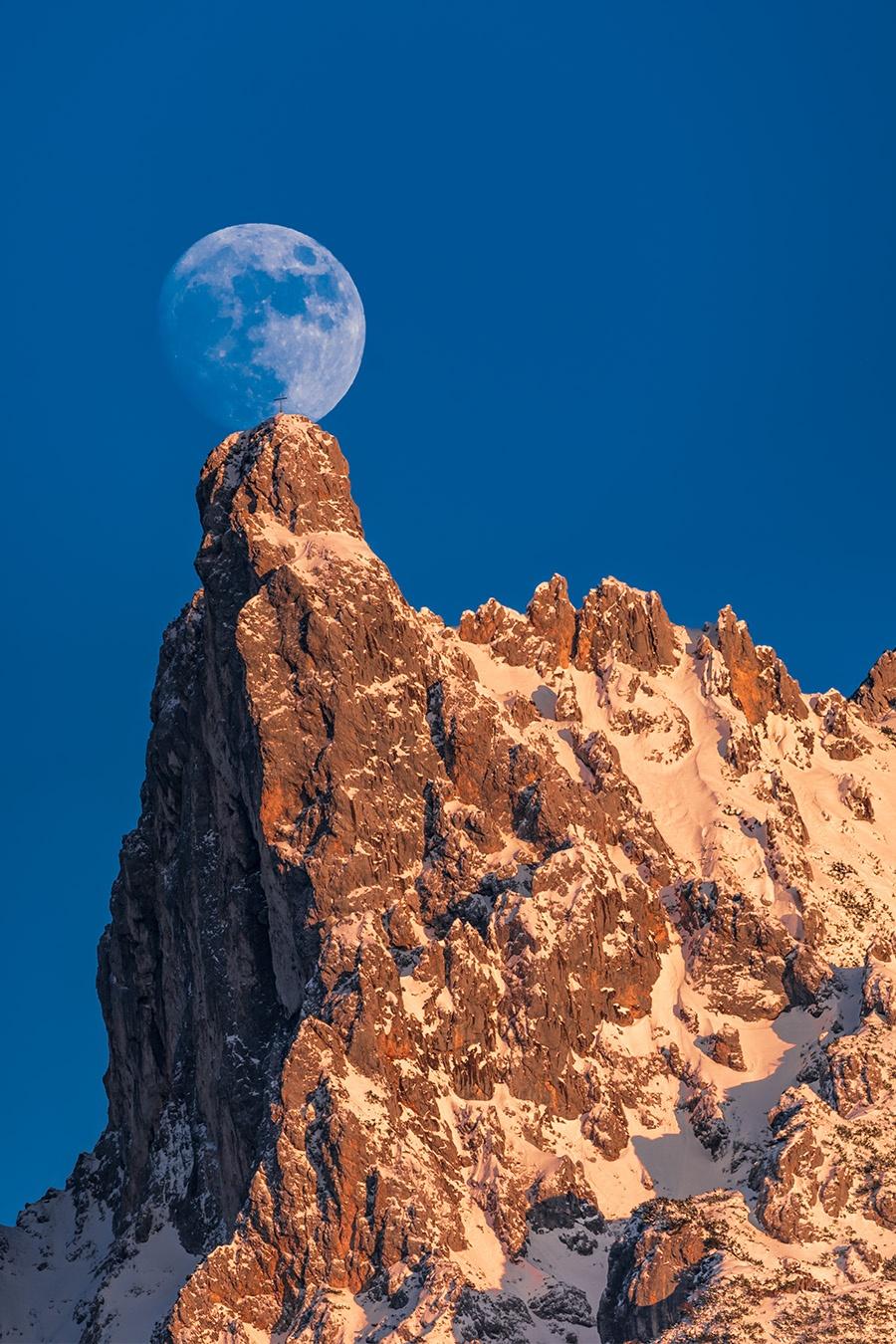 Viererspitze mit Mond