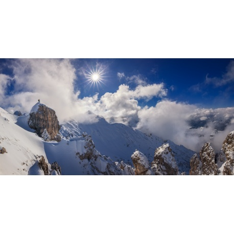 Winter, Soierngruppe, Winterlandschaft, Schnee, Berglandschaft, Karwendelgebirge