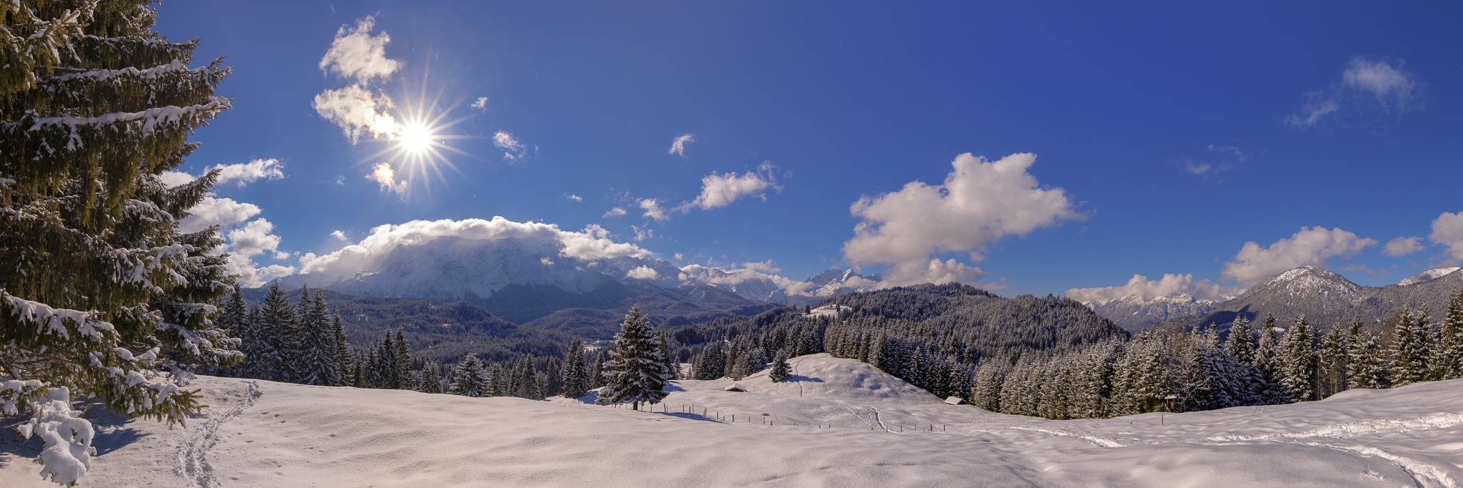 Elmau-Winter-Panorama