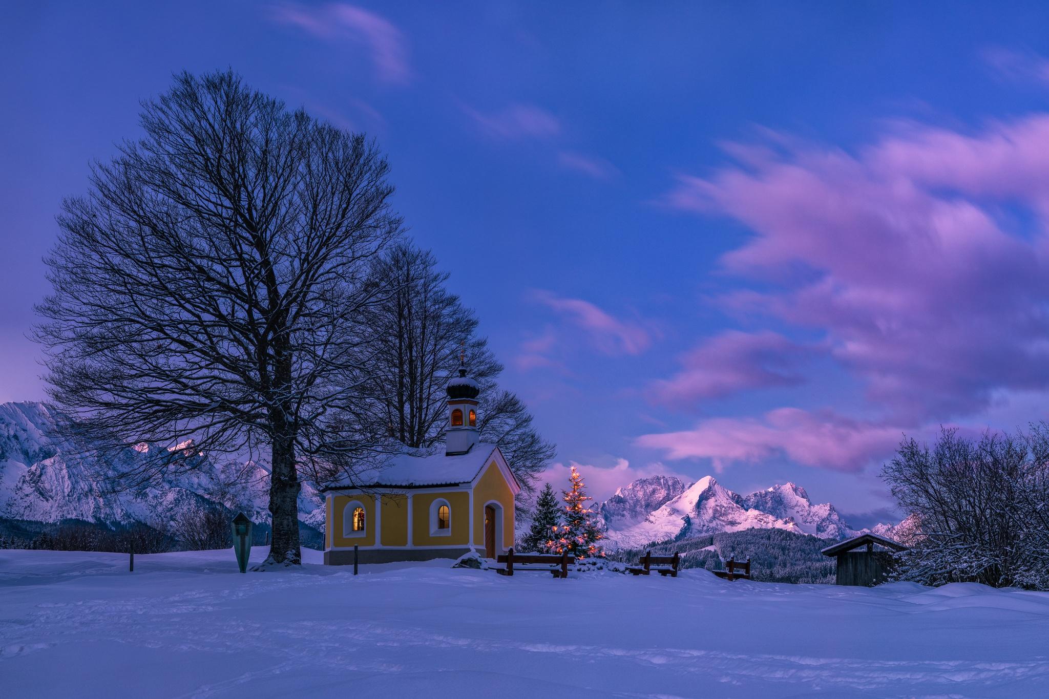 Weihnachtsmorgen - Kapelle Maria Rast