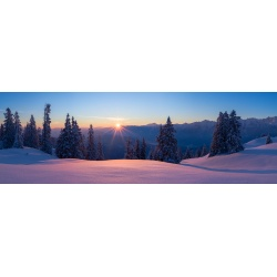 Sonnenaufgang Wallgauer Alm