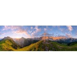 Karwendelhauptkamm Sonnenaufgang