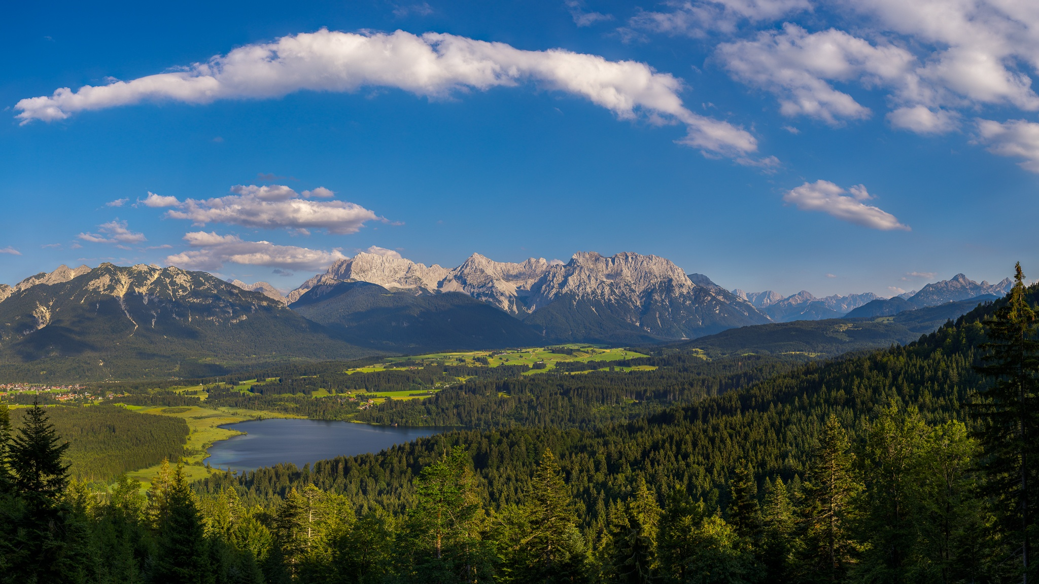 Barmsee, Karwendel, Alpenwelt