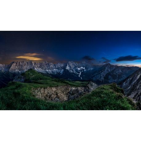 Sternenhimmel am Karwendelhauptkamm