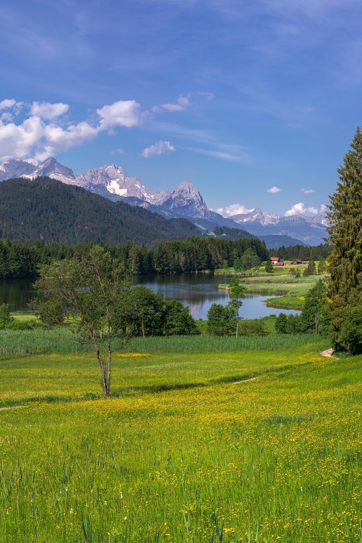 Geroldsee und Zugspitze