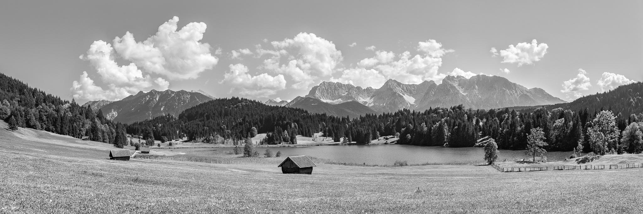 Gerold-Seeblick schwarz weiß