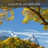 Zugspitze und Großer Waxenstein im Herbst