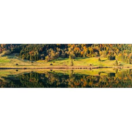 Herbstspiegel am Geroldsee