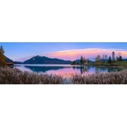 Walchensee - Zwergern bei Abendrot
