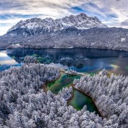 Wintermärchen am Eibsee