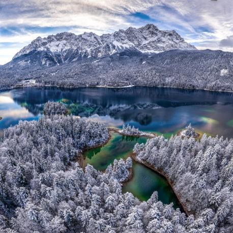 Eibsee, Winter