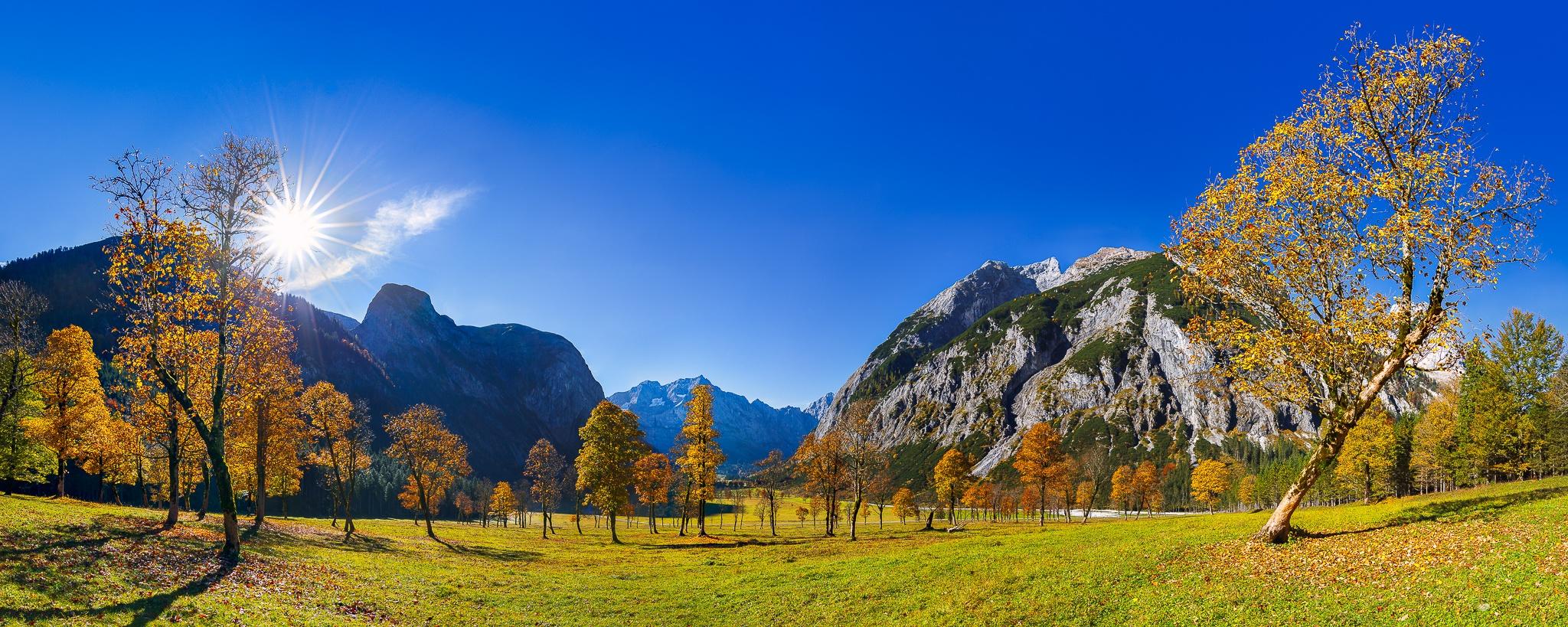 Großer Ahornboden - Herbst - Engalm