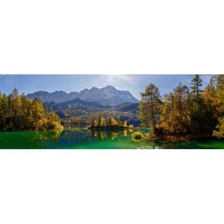 Eibsee Zugspitze Panorama