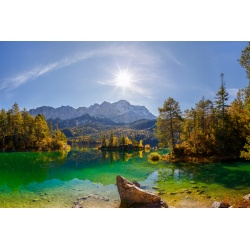 Eibsee - Erholung unter der Zugspitze