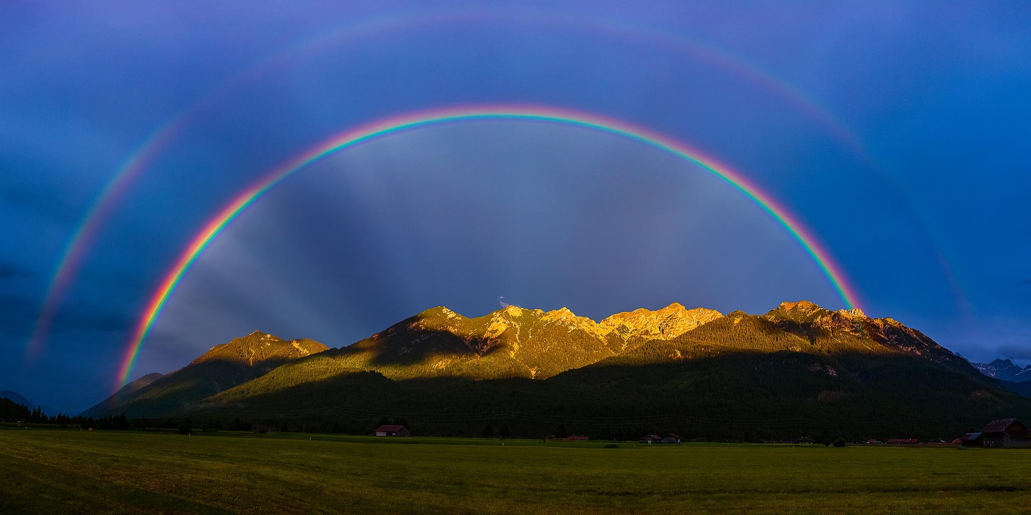 Doppelter-Regenbogen